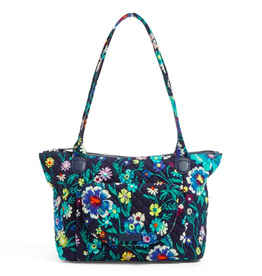 VERA BRADLEY Carson East West Tote Moonlight Garden