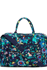 VERA BRADLEY Iconic Weekender Travel Bag Moonlight Garden