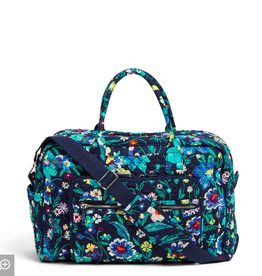 VERA BRADLEY Iconic Weekender Travel Bag Moonlight Garden