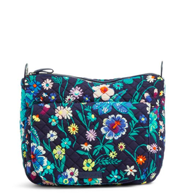 VERA BRADLEY Carson Shoulder Bag Moonlight Garden