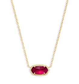 KENDRA SCOTT Elisa Necklace Gold Berry Illusion