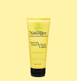 THE NAKED BEE THE NAKED BEE-Citron & Honey Lotion 2.25 oz.