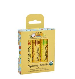 THE NAKED BEE THE NAKED BEE-3 Pack Lip Balm Gift Set