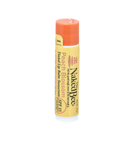 THE NAKED BEE THE NAKED BEE-Tinted Lip Balm in Peach Blossom .15oz