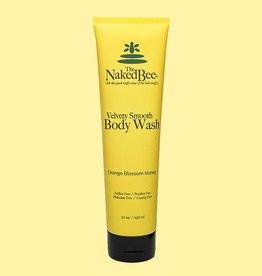 THE NAKED BEE THE NAKED BEE-Orange Blossom Honey Body Wash 10 oz.