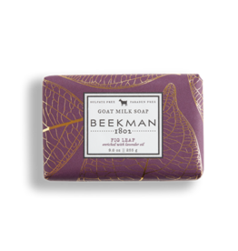 BEEKMAN 1802 INC Beekman Fig Leaf Goat Milk Bar Soap 9oz.