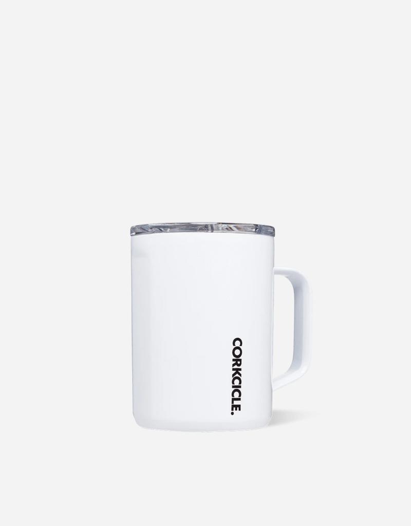 CORKCICLE 16oz Coffee Mug Gloss White