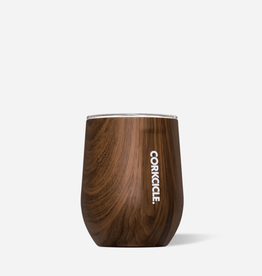 CORKCICLE 12oz Origins Stemless Walnut Woods