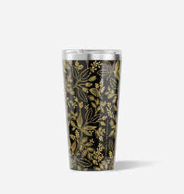 CORKCICLE 16oz Tumbler Rifle Paper Queen Anne Black