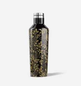 CORKCICLE 16oz Canteen Rifle Paper Queen Anne Black