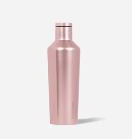 CORKCICLE 16oz Metallic Canteen Rose