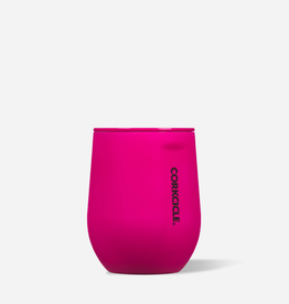 CORKCICLE 12 OZ STEMLESS NEON PINK
