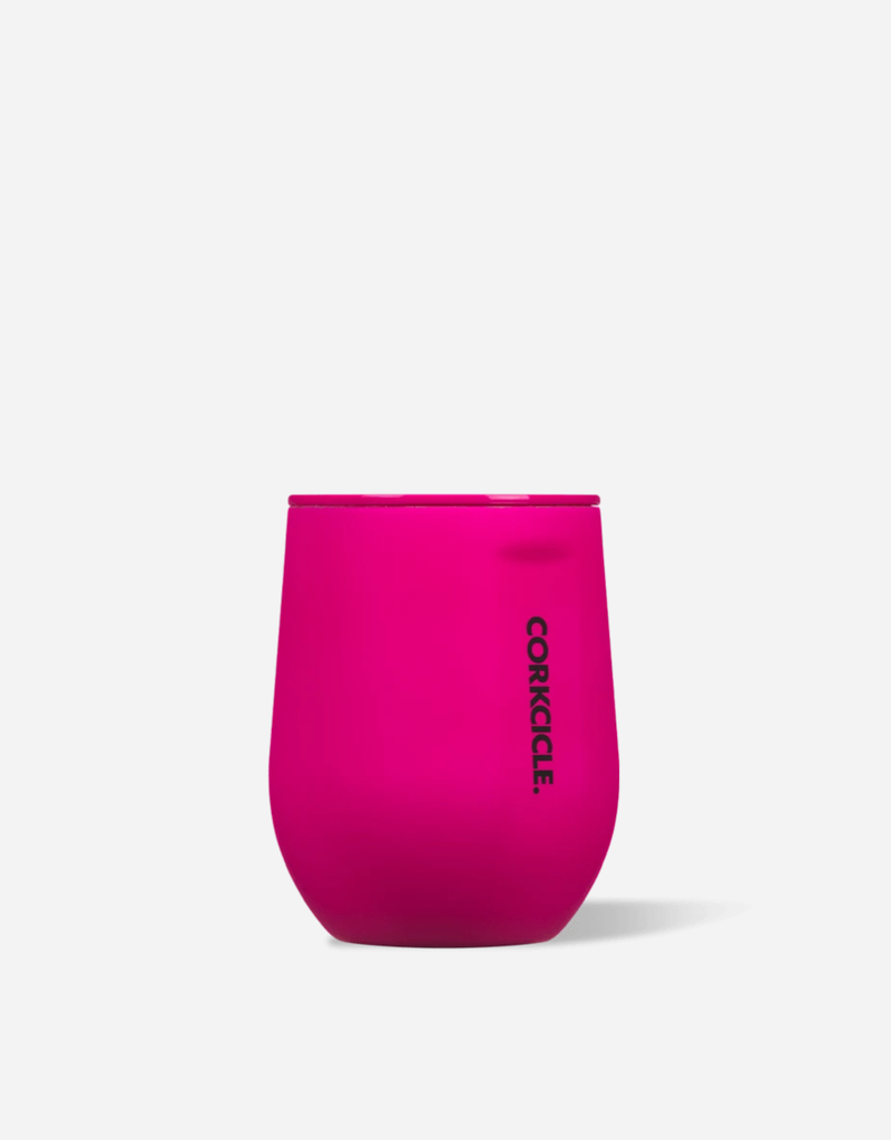 CORKCICLE 12oz Stemless Neon Pink