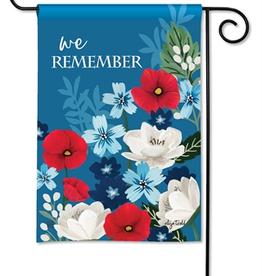 GARDEN FLAG WE REMEMBER