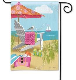 MAGNET WORKS LTD GARDEN FLAG BETTER AT THE BEACH