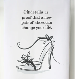 SOUTHERN SISTERS HOME Flour Sack Towel Cinderella is Proof