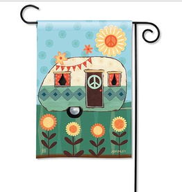 GARDEN FLAG HAPPY LIFE
