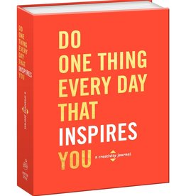 PENGUIN RANDOM HOUSE Do One Thing Every Day That Inspires You: A Creativity Journal By Robie Rogge And Dian G. Smith