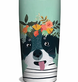 STUDIO OH/ORANGE CIRCLE STUDIO FANCY DOG TUMBLER