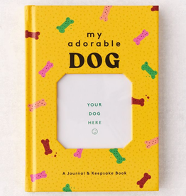"HACHETTE BOOK GROUP Journal & Keepsake Book ""My Adorable Dog"""