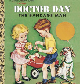 PENGUIN RANDOM HOUSE Little Golden Book Series Doctor Dan the Bandage Man