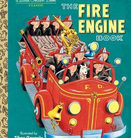 PENGUIN RANDOM HOUSE Little Golden Book Series The Fire Engine Book