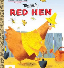 PENGUIN RANDOM HOUSE Little Golden Book Series The Little Red Hen