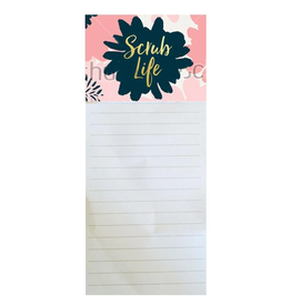 MARY SQUARE MAGNETIC NOTEPAD SCRUB LIFE