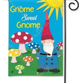 GARDEN FLAG GNOME SWEET GNOME