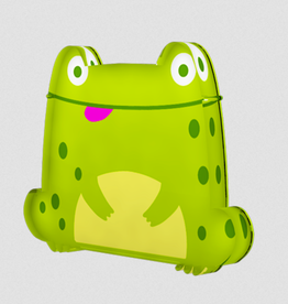 OUTSIDE THE BOX GIFTWARE FROG  BUTTON