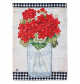 STANDARD FLAG GERANIUMS BLOOMS