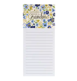 MAGNETIC NOTEPAD BEING A GRANDMA