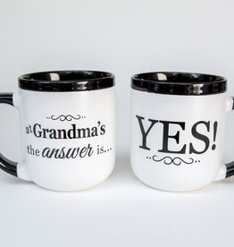 THE GRANDPARENT GIFT CO INC YES GRANDMA COMBO MUG