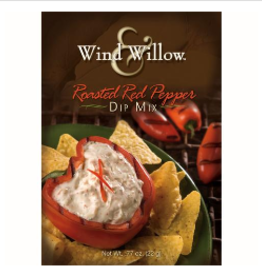 WIND & WILLOW Dip Mix Roasted Red Pepper