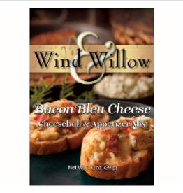 WIND & WILLOW Cheeseball Mix Bacon Bleu Cheese