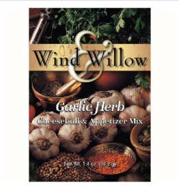 WIND & WILLOW Cheeseball Mix Garlic Herb