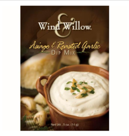 WIND & WILLOW Dip Mix Asiago & Roasted Garlic