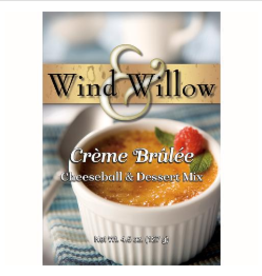 WIND & WILLOW Cheeseball & Dessert Mix Creme Brulee