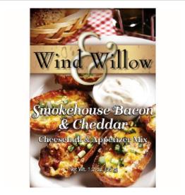 WIND & WILLOW Cheeseball Appetizer Mix Bacon Stuffed Mushroom