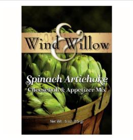 WIND & WILLOW Cheeseball Mix Spinach Artichoke