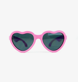 BABIATORS Limited Edition Pink I Love You Sunglasses Ages 3-5
