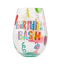 LOLITA Birthday Bash Stemless WIne Glass