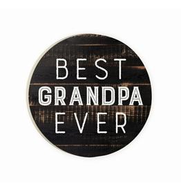 P. GRAHAM DUNN BEST GRANDPA EVER CAR COASTER