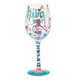 Lolita Wine Glass NURSE THIS
