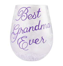 LOLITA Best Grandma Stemless Wine Glass