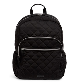 Iconic Campus Backpack Black- Performance Twill