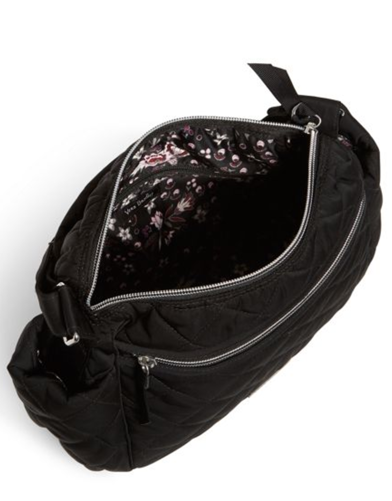 VERA BRADLEY Iconic On the Go Crossbody Black Performance Twill