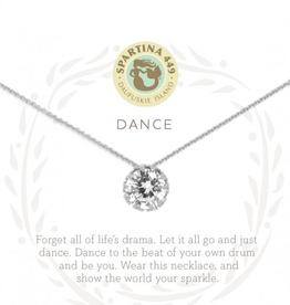 """SPARTINA Sea La Vie Necklace 18"""" Dance/Gem Silver"""