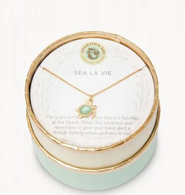 "SPARTINA 18"" Sea La Vie/Sea Turtle gold"