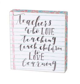 PRIMITIVES BY KATHY BOX SIGN LOVE TEACHING